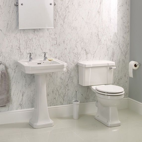 Savoy WC and basin complete set | bathstore