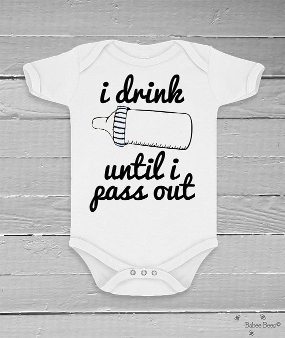 Funny Baby Clothes Funny Baby Bodysuit Gender Neutral by BabeeBees