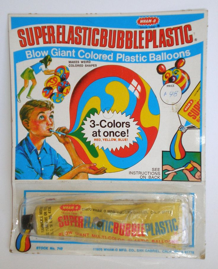 super elastic bubble plastic instructions