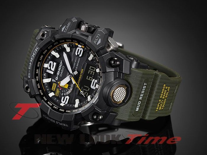 Relógio CASIO G-Shock Mudmaster GWG-1000-1A3 Tough Solar - New Look Time