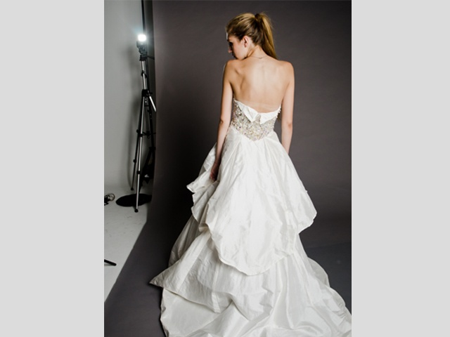 The Wedding Dress   Worn by Vicky  Photographed by Pierre de Villiers  http://marethcolleen.blogspot.com