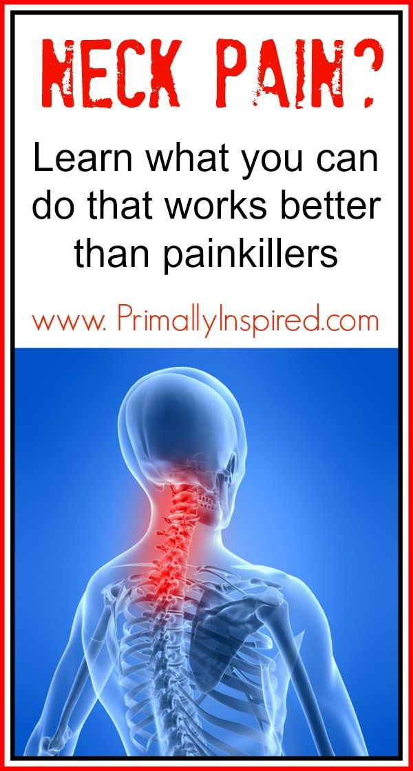 Neck Pain Natural Remedies PrimallyInspired.com