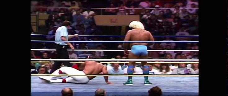NWA Wrestle War 1989 Ric Flair vs Ricky Steamboat