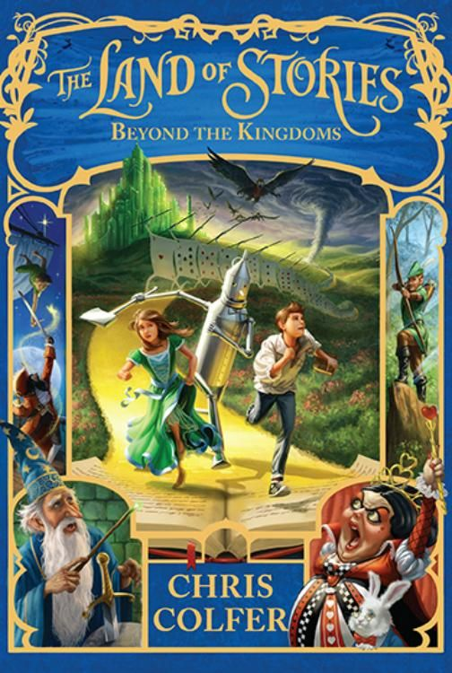 The Land Of Stories: Beyond The Kingdoms cover (Release date: July 7, 2015)
