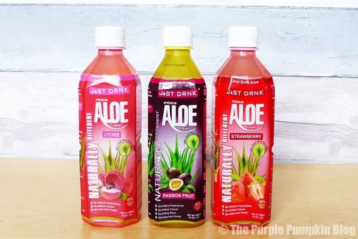 Check Out Just Drink Aloe.