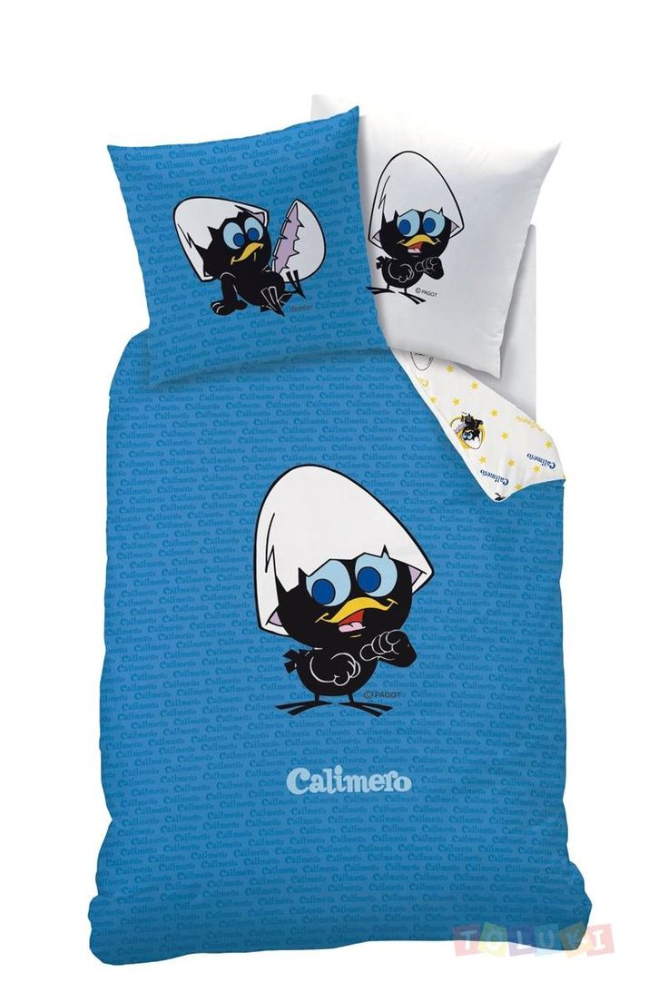 Parure de lit Calimero bleu | Toluki