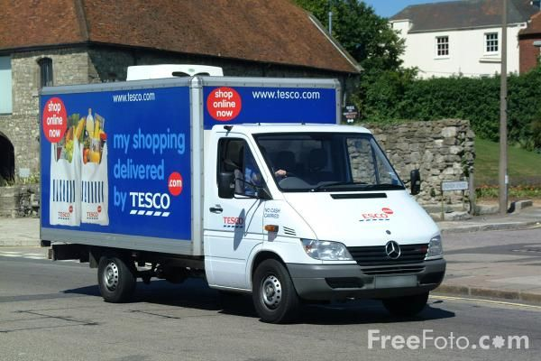 Order online,Tesco delivered groceries to my door - Walmart, why can't you do this?