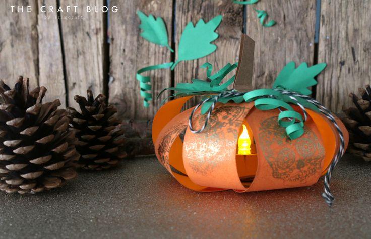Angela Dodson's Pumpkin Tea Light H... | The Craft Blog