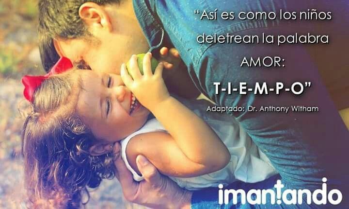 #FelizDía. En esta temporada de #vacaciones de los #niños (Calendario A), seguimos compartiendo frases para #padres. Pueden encontrar más sobre #Crianza en: http://imantando.com