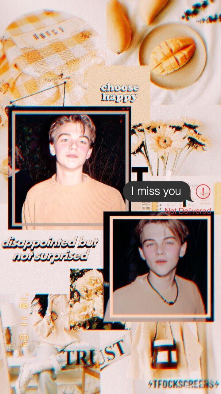 Leonardodicaprio Caprio Youngleo Young Leonardo Dicaprio Leonardo Dicapro Leonardo Caprio Aesthetic wallpaper young leonardo