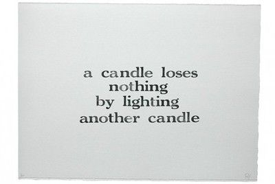 Light another candle...