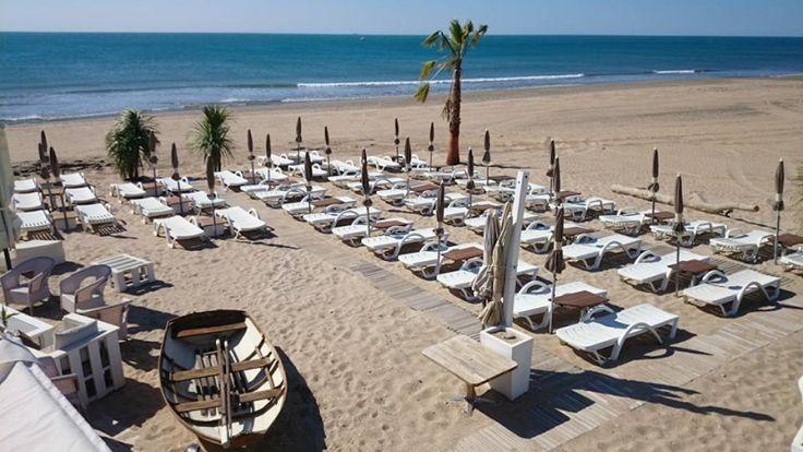 Acd Face à la mer - Plage aménagée Sète (34200 Sète) - epaillote.com, l'officiel des plagesaménagées