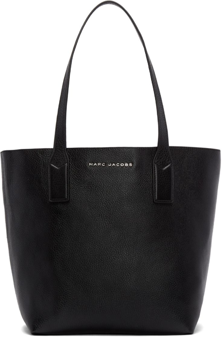 Marc Jacobs - Black Leather Wingman Tote