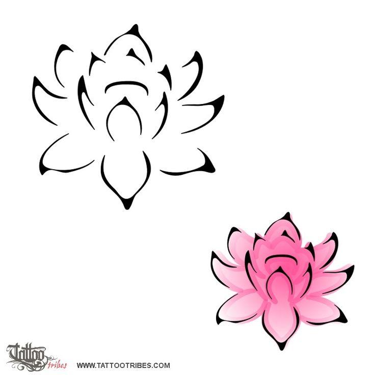 Tatuaggio di Fiore di loto, Perfezione, superamento difficoltà tattoo - custom tattoo designs on TattooTribes.com