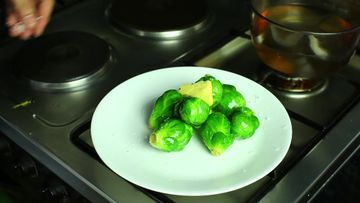 Cocinar coles de bruselas brussels sprouts and brussels - Cocinar coles de bruselas ...
