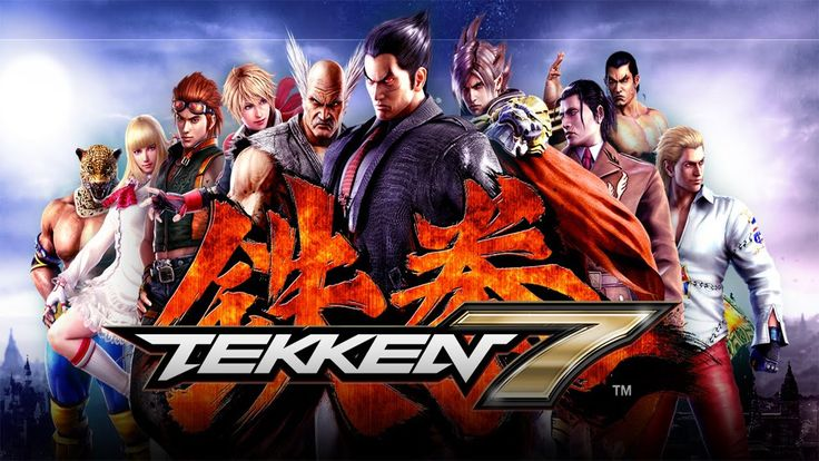 TEKKEN 7 All Character reveal trailers! HD 60FPS (28/05/2015)