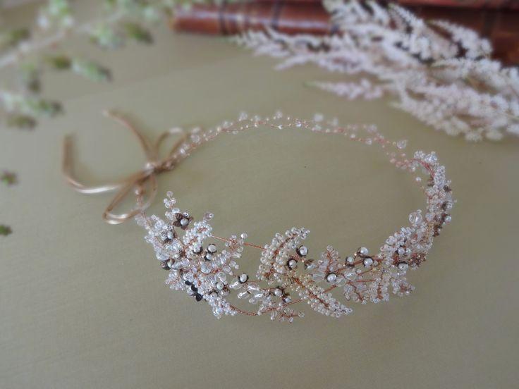 Rustichairpiece for bride #wedding #weddingjewelry #weddingheadpiece #weddingtiara #weddingaccessories #bridal #bridaljewelry #bridalaccessories #bridalheadpiece #hairhalo #latviandesign #tiaras #weddingjewelrysets#weddingbracelet #rusticwedding #rustic #vintage #vintagewedding #vintageweddingjewelry #boho #bohowedding #flowerjewelry #hairvine #hairdiadem #diadem #crown #weddingcrown