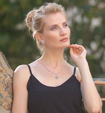 Rose gold necklace  for Women 24K Golden PlatedKent
