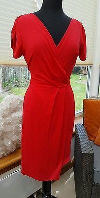 LK BENNETT RED DRESS - UK 14