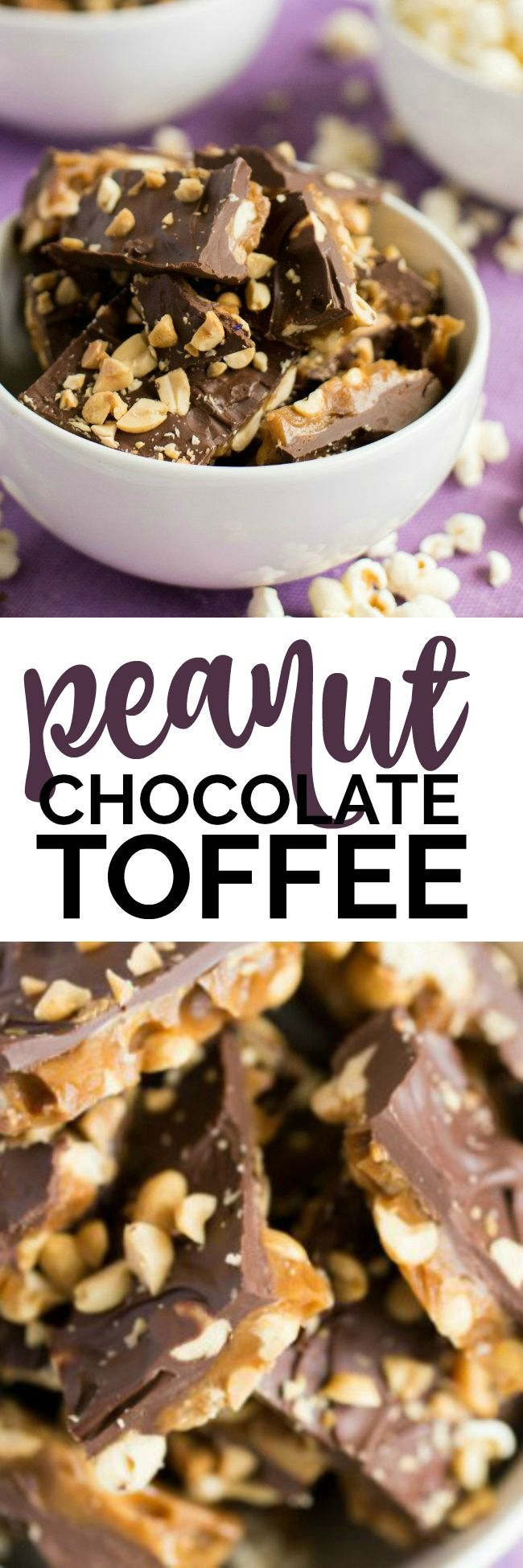 Party Snack Ideas: Peanut Chocolate Toffee @walgreens #SimplyNice #ad