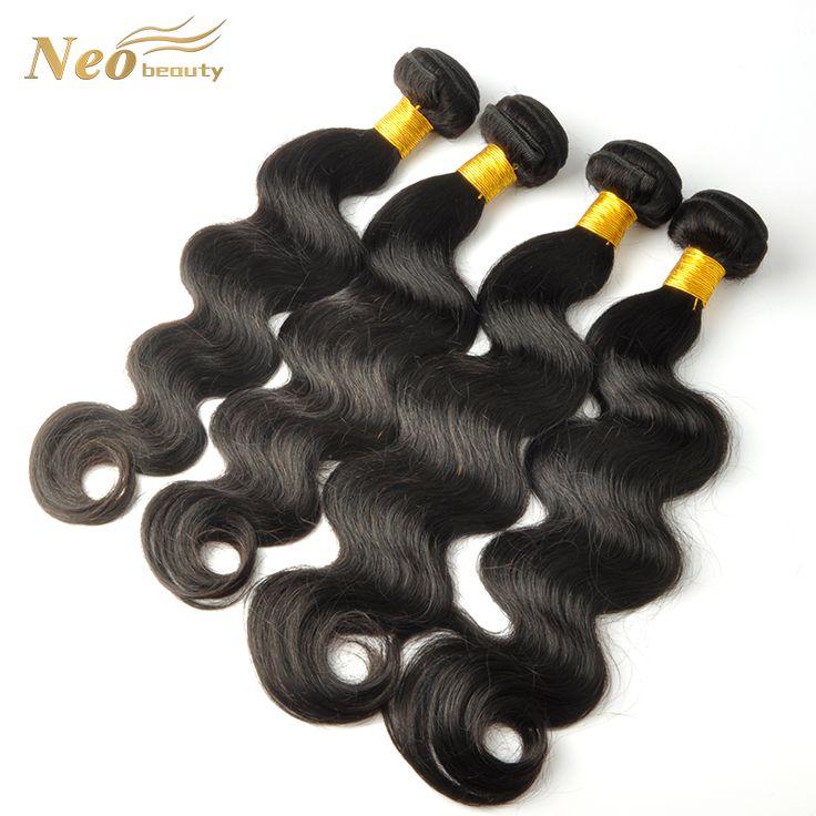 6A Brasilianische Reine Haarkörperwelle Rosa Haar 4 Bündel Brasilianische Körperwelle Nasses und Wellenförmiges Reines Brasilianisches Haar