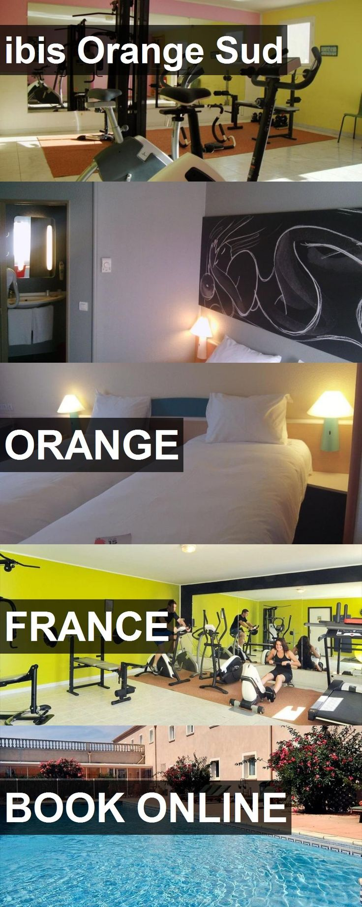 Hotel ibis Orange Sud in Orange, France. For more information, photos, reviews and best prices please follow the link. #France #Orange #hotel #travel #vacation