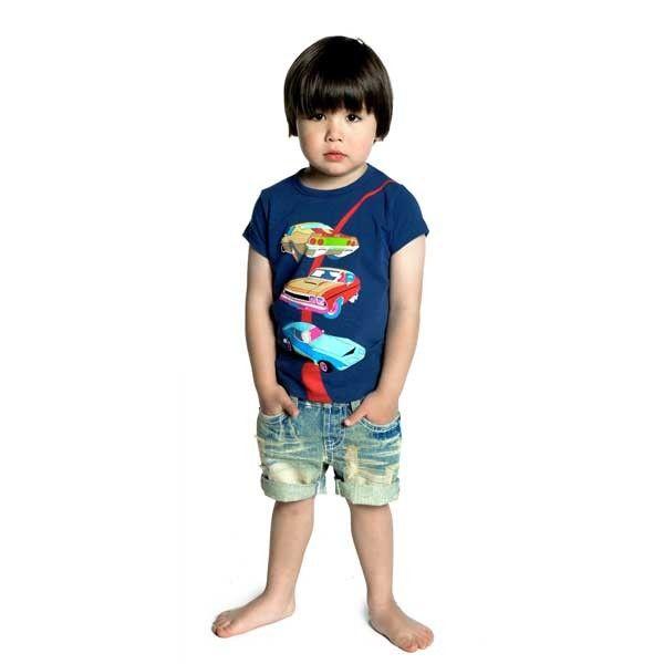 TransAm tee and Kerouac denim shorts | Rock Your Baby