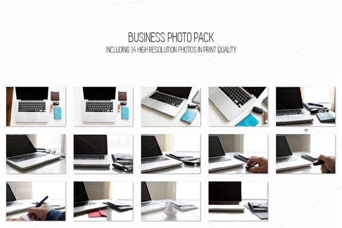 Business photo pack by Knofe on @creativemarket