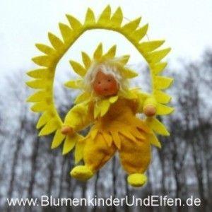 Summer flower children and elves