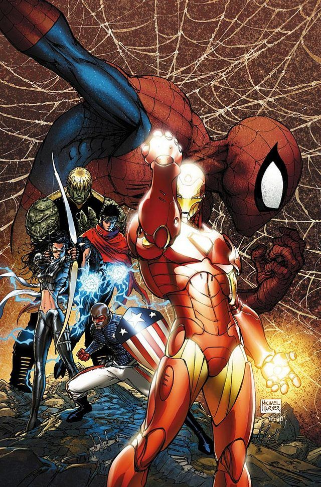 Marvel's Civil War by Michael Turner
