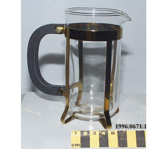 Cafetière de Swiss Gold Standard fait a Sachseln, Suisse en 1996