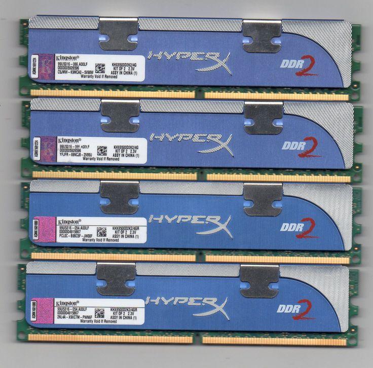 8GB (4X 2GB) DDR2 PC2-8500 1066 Mhz Desktop Computer Memory PC Ram DIMM