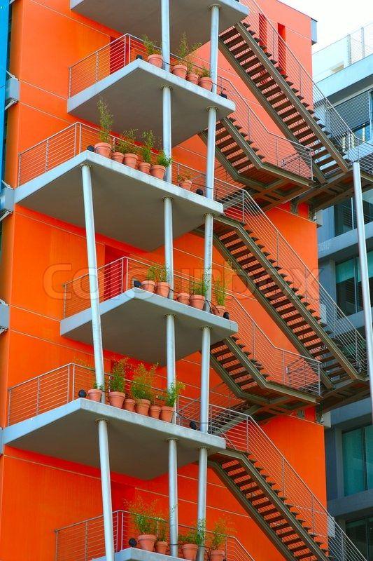 Stock image of 'Fire escape'