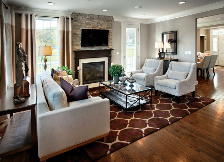 Elegant Property Brothers Living Rooms | Toll Brothers   Rivington By Toll Brothers    The Hills Collection Part 2