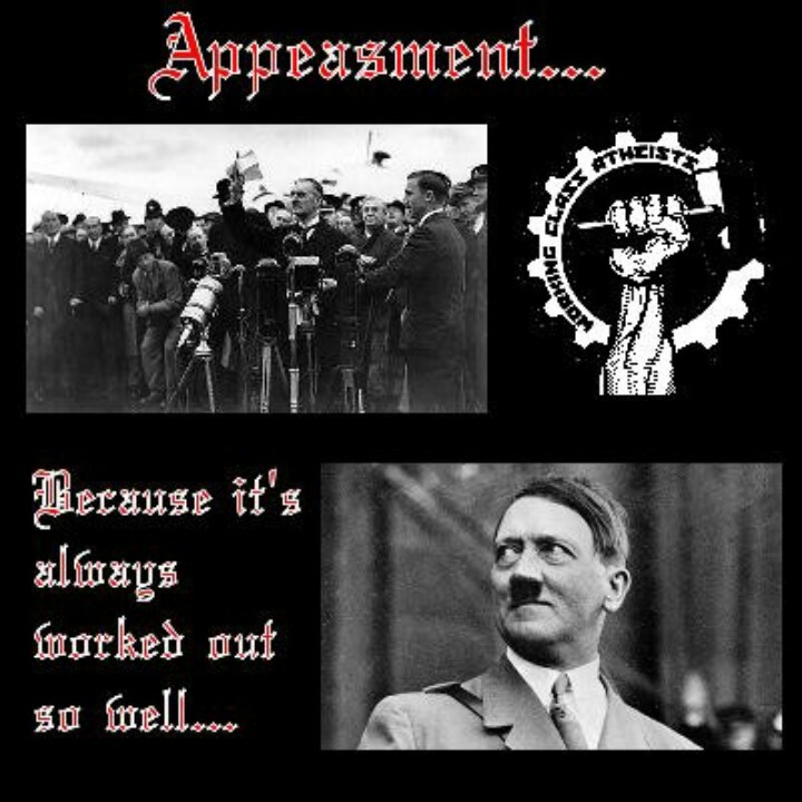 a history of appeasement policy in world war ii Kids learn about the causes of world war ii including fascism, adolf hitler and the nazi party, the treaty of versailles, appeasement, the great depression, and japanese expansion.