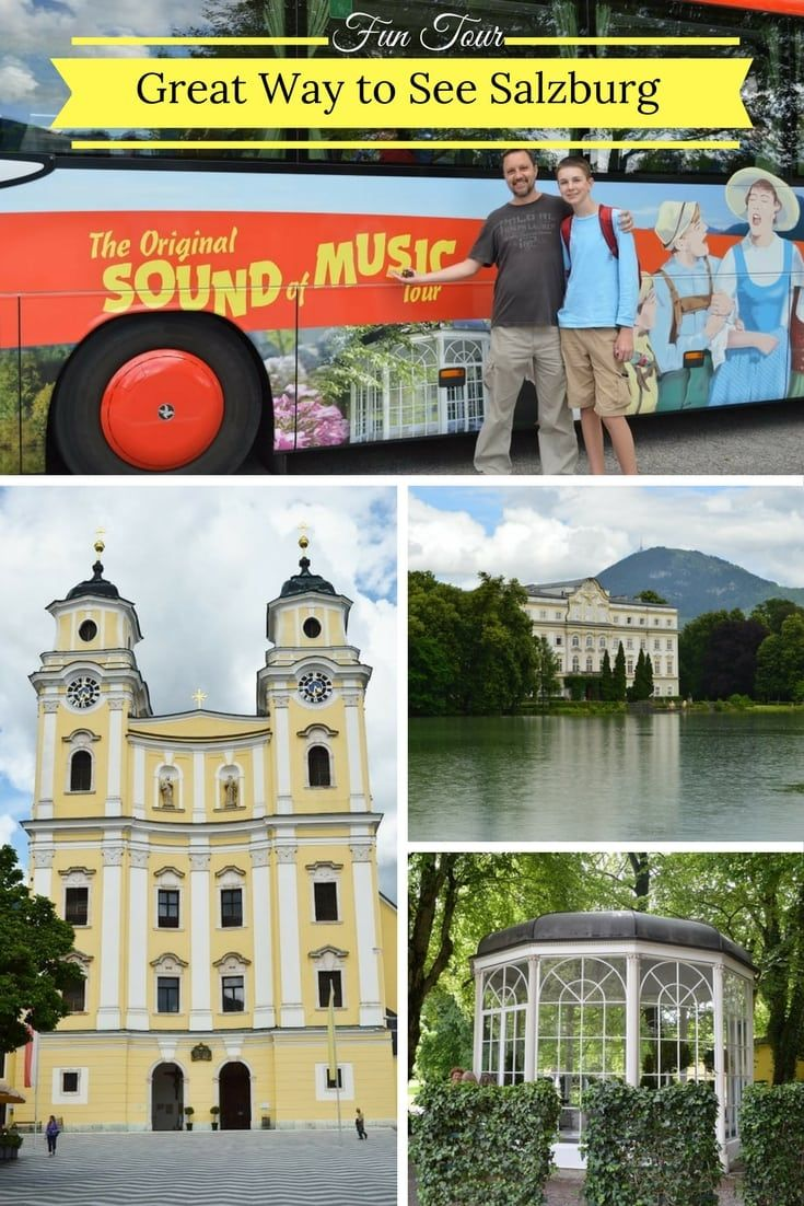 Great way to see Salzburg Austria is with a bus tour. If you love Sound of Music (the movie) you should consider the Sound of Music Bus tour which takes you to many sites where the film was filmed.