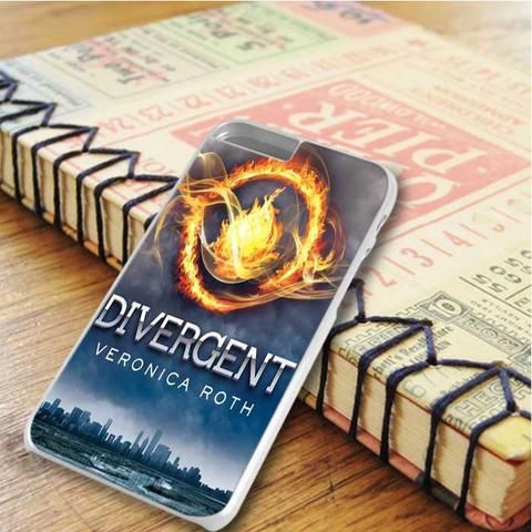 Divergent Cover Veronica Roth iPhone 6 Plus|iPhone 6S Plus Case