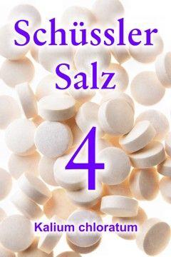 Das Schüssler Salz 4, Kalium chloratum, regt den Stoffwechsel an, löst Giftstoffe aus den Zellen und hilft gegen Entzündungen im fortgeschrittenen Stadium.