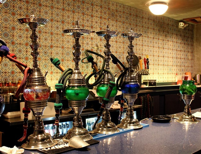 Hookah at Alhambra on 17th St., McAllen, TXHookahs இڿڰ, 17Th St, Mcallen Entertainment