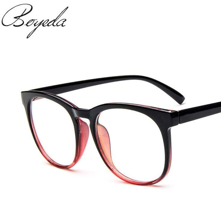 2017 New Women's Optical Glasses Frame for Eyewear Eyeglasses Vintage Men Women Myopia Eye Glasses Frame Computer Clear Lens