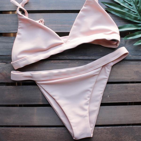 the blush minimalist bikini - shophearts - 1