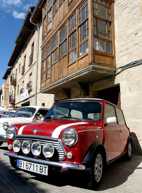 To have my own little Classic Mini Cooper S - named Jimmy