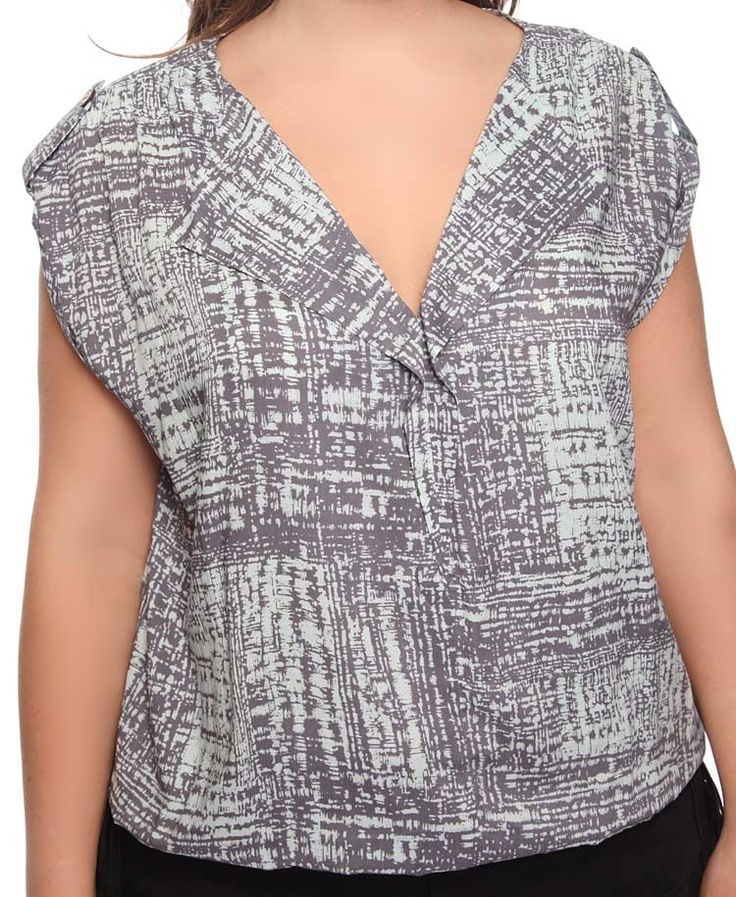 Abstract Button Tab Top