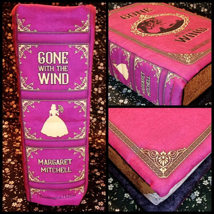 Gone with the Wind Book Pillow