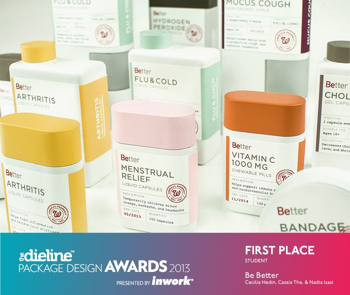 The Dieline Package Design Awards 2013: Student, 1st Place - Be Better - The Dieline -