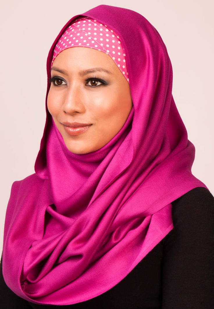 The Haute Hijab Posh Pashmina Silky Fuchsia makes a stylish complement to any modern muslimah wardrobe. It features a plain color on soft and comfy material. Wear this simple shawl to gracefully match your outfit for any events, making this shawl perfect to accessorize. Suitable for scarf, tudung, turban and wrap. L: 186cm x W: 55cm. $78(RM). Visit www.zalora.com.my for more scarves.