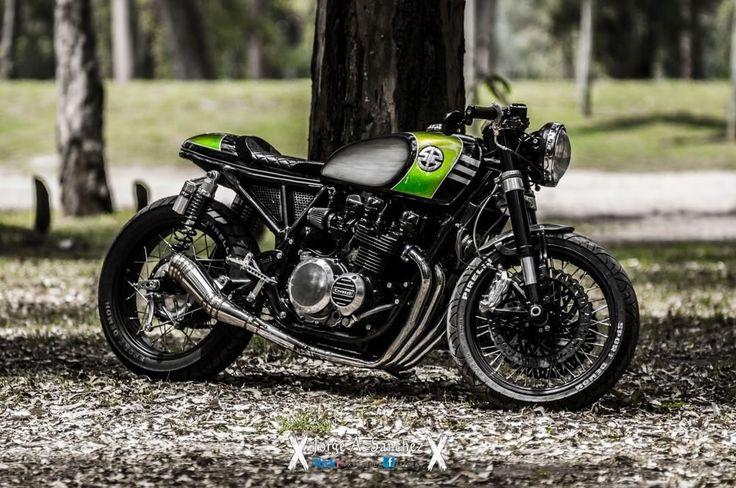 Cafe Racer Pasión —  caferacerpasion.com  Kawasaki KZ650 #CafeRacer...