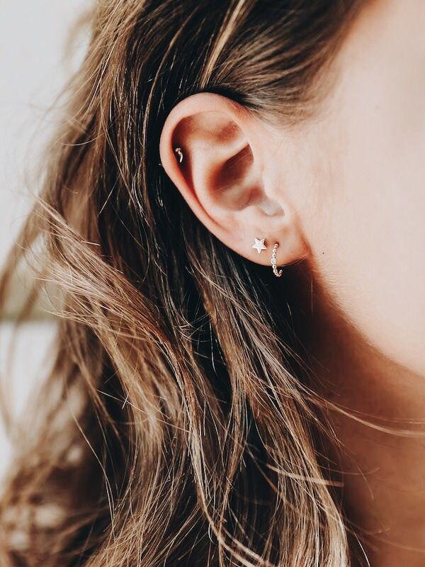 Image result for hoop earrings pinterest