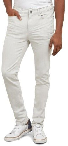 Kenneth Cole New York White Weft Skinny Jean - Men's - White