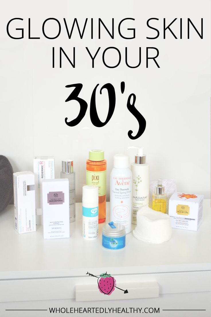 Glowing pores and skin in your 30s: my new routine